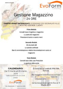 Gestione Magazzino @ EvoForm Consulting
