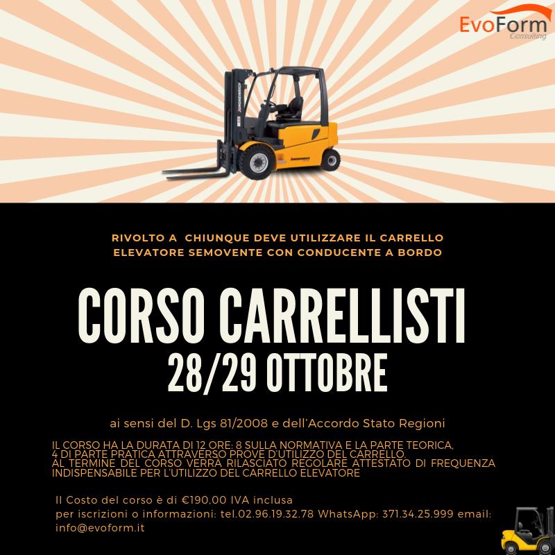 Corso Carrellisti @ EvoForm Consulting