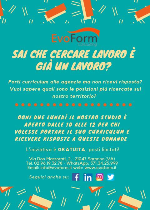 Incontro di Orientamento al Lavoro @ EvoForm Consulting