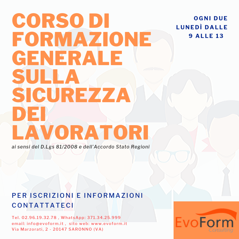 Sicurezza Generale @ EvoForm Consulting