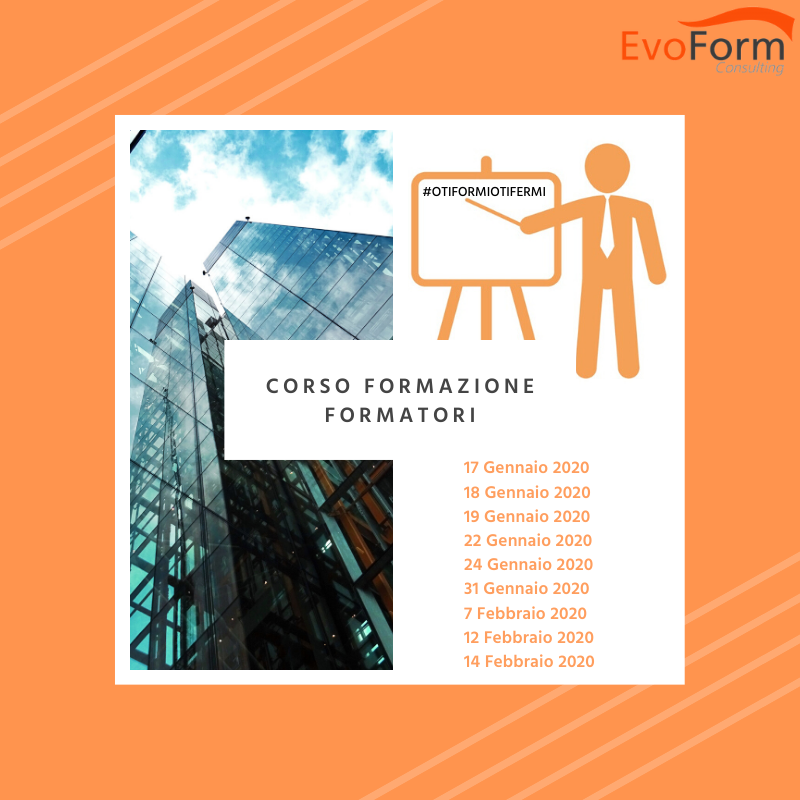 Formazione Formatori @ EvoForm Consulting