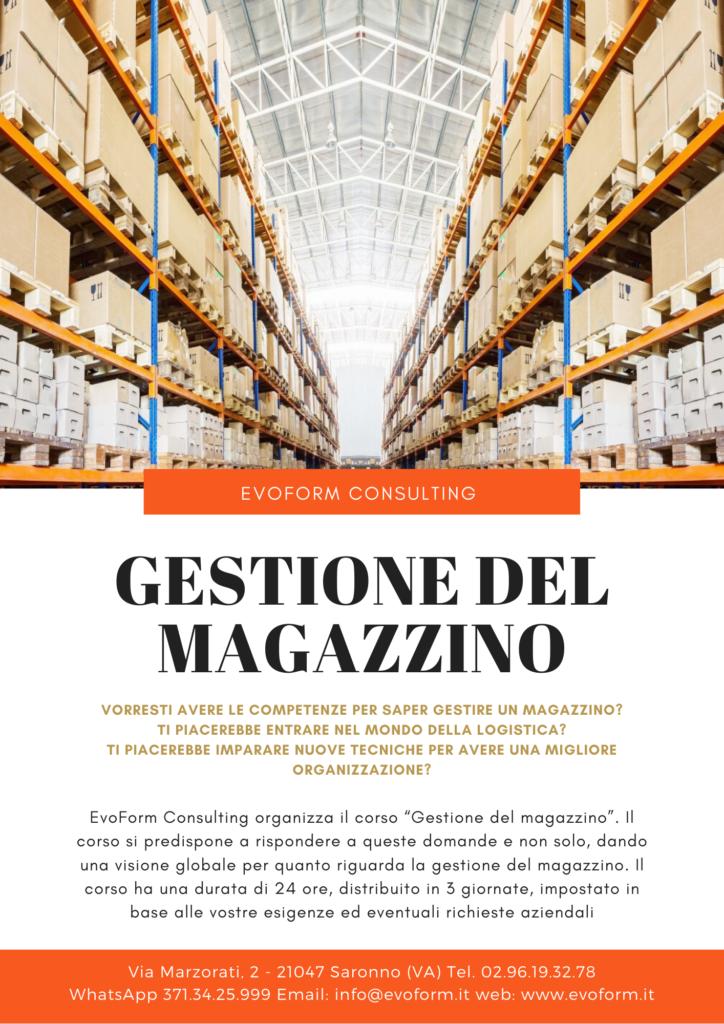 Gestione del Magazzino @ Varese