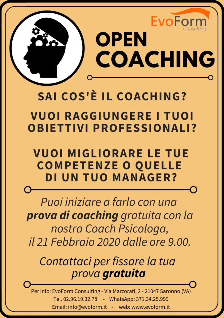 Prova gratuita di coaching