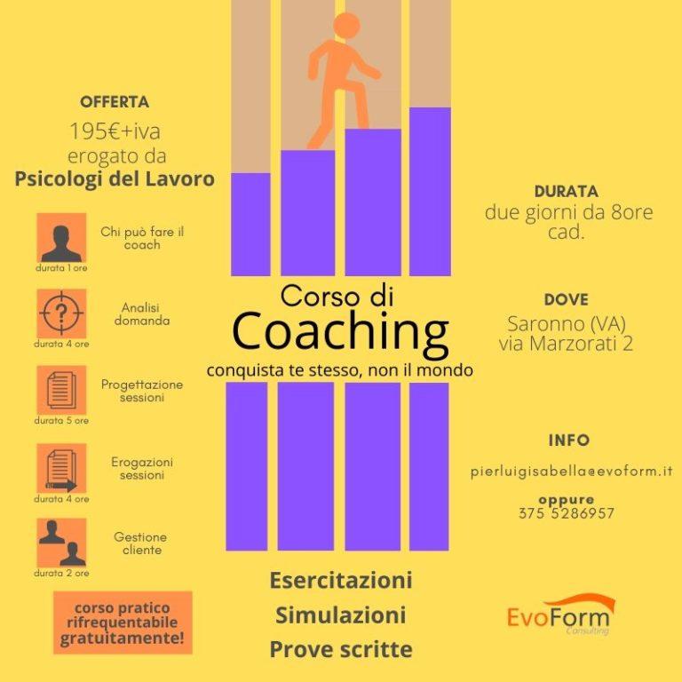 """Corso """"Formazione Coach"""""""